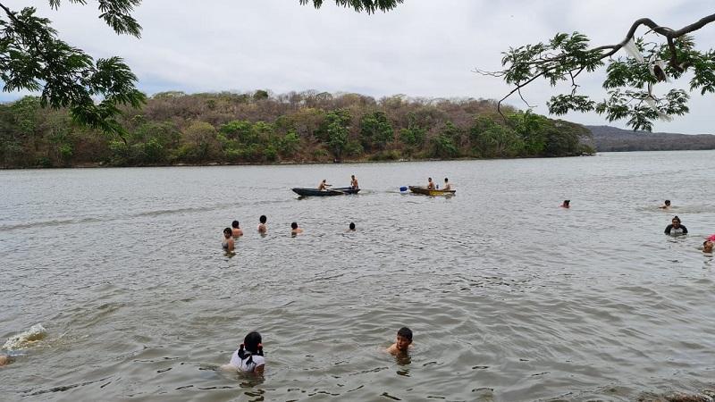 Otro espacio de la Laguna de Moyuá en Ciuda Darío
