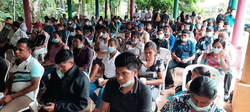 Productores de Nueva Guinea en el lanzamiento del plan de producción 2021