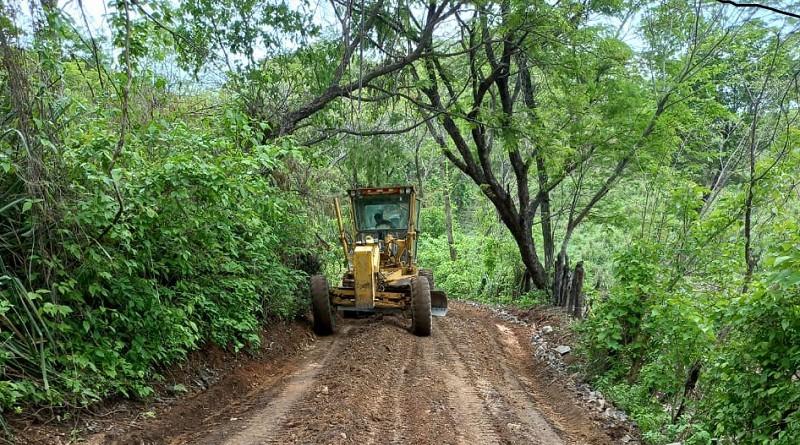 Tres kilómetros mejoró el gobierno local de San Pedro del Norte en la comunidad Los Laureles.