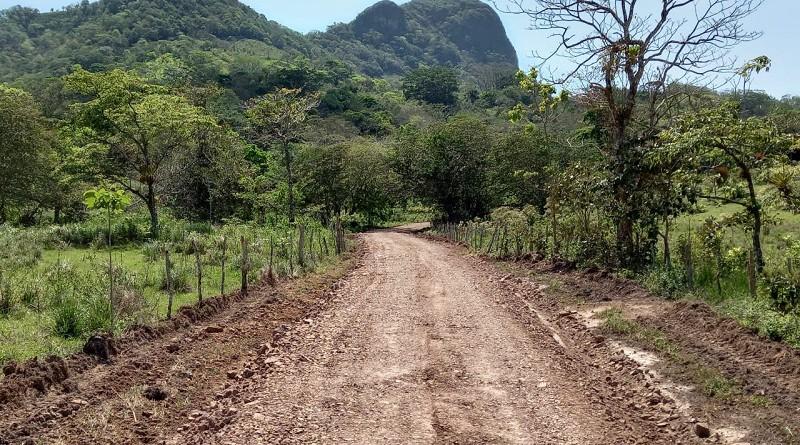 En la comunidad Cosmatillo en la Libertad, la alcaldía restauró cuatro kilómetros.