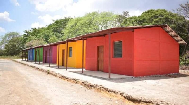 En Nagarote, el gobierno local asignará cinco casas de la lotificación Zaira Julissa López en la comunidad Costa Azul.