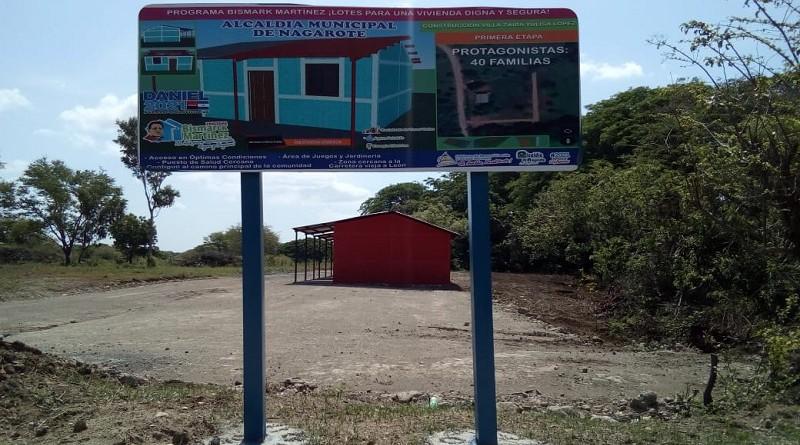 Lotificación Zaira Julissa López en la comunidad Costa Azul, Nagarote