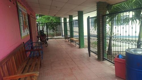 La alcaldía de Ocotal mejoró tres puestos de salud en los barrios Teodoro López, Danilo Ponce y Sandino. (Foto unidad de salud Danilo Ponce)