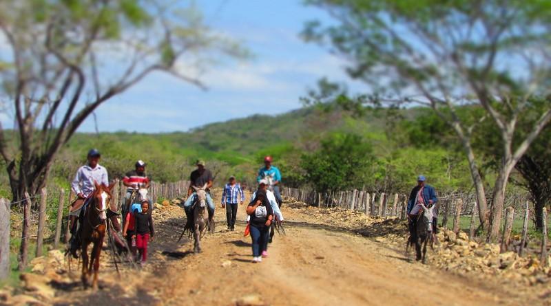 En las comunidades Quintana y El Rayo, en Acoyapa las familias inaugurarán 1.5 kilómetros de caminos restaurados.