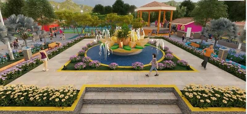 En el diseño uno de los espacios del parque de La Concepción