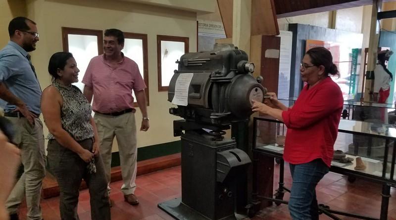 Imágenes de la visita de presidenta  del Inifom a Matagalpa y a San Isidro