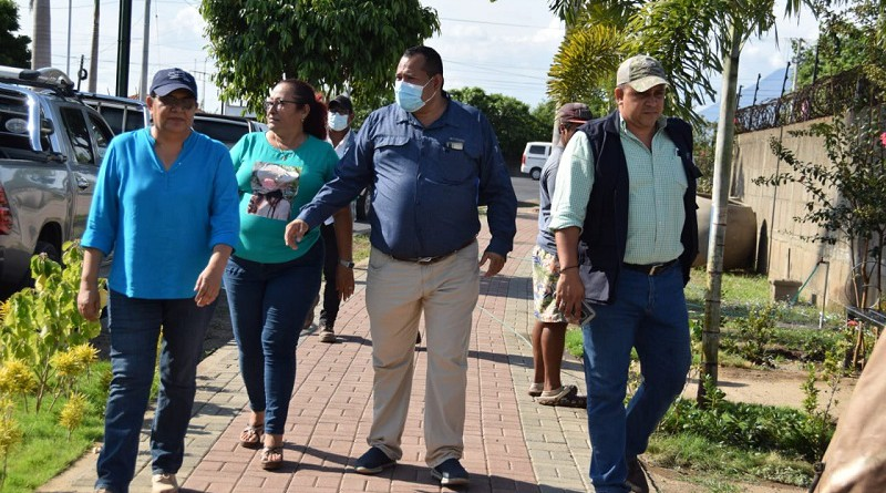 Viaje institucional al Municipio Más Limpio  del País: Nagarote