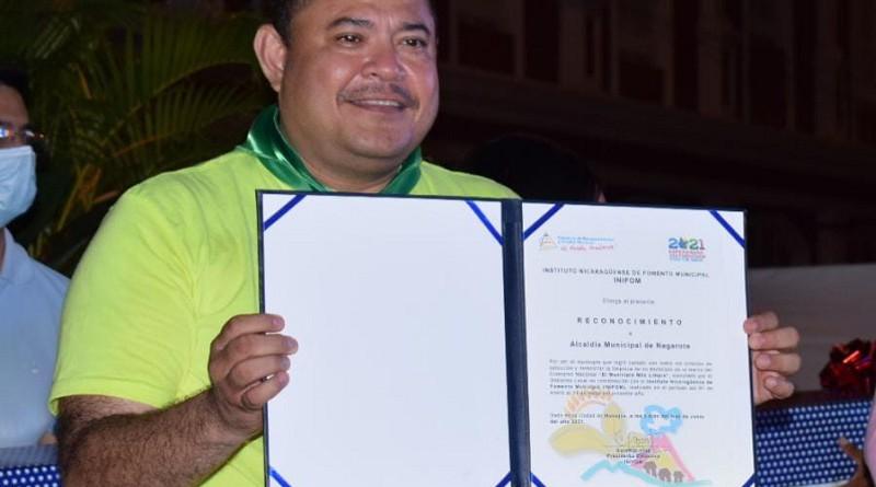 Alcalde de Nagarote, Juan Gabriel Hernández