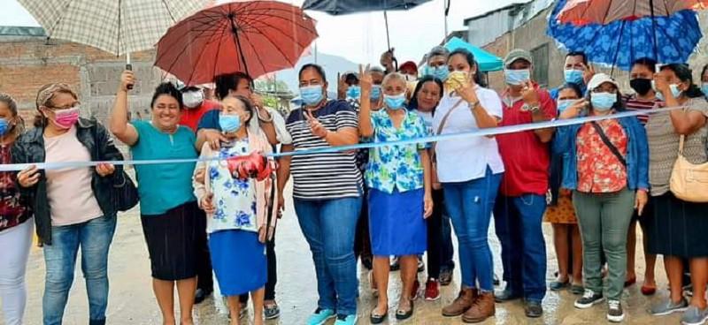 Alcaldía de Somoto concluye circuito de calles adoquinadas en barrio Pancasán con la vía Marcos Rayo inaugurada ayer
