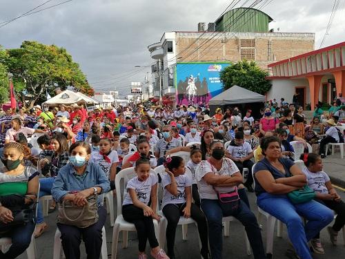 Espectadores de la Gala Regional en Estelí