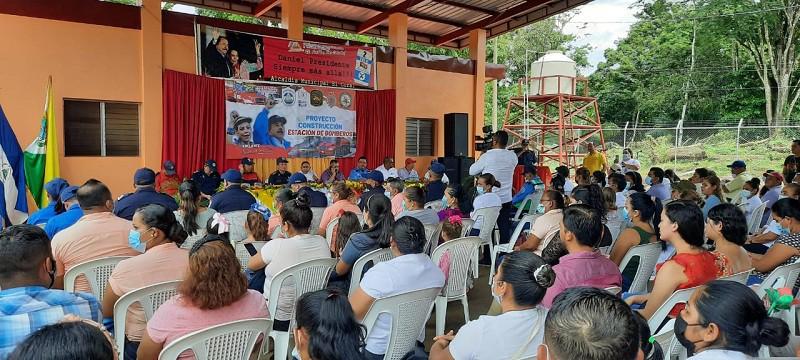 El Coral inaugura su estación de bomberos, la próxima es en Villanueva