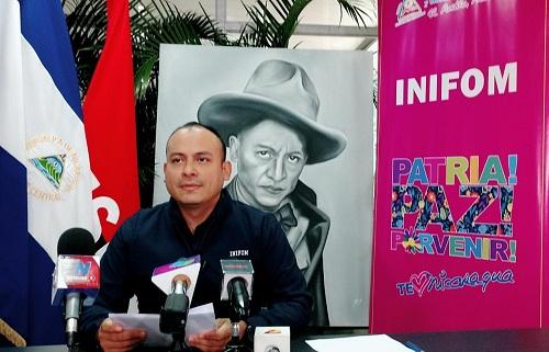 Director general del Inifom, Iván Lacayo