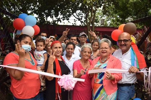 Chinandega: Inauguración del puesto de salud en el reparto José Benito Centeno