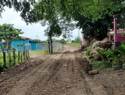 Morrito: Lotificación del Programa Bismarck Martínez ya cuenta con calle de acceso