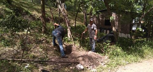 Somoto: Inicia proyecto de electrificación en la comunidad Sonis, el cual se extenderá hasta San José Las Papayitas. Las familias en general esperan con ansias este servicio de restitución de derechos.