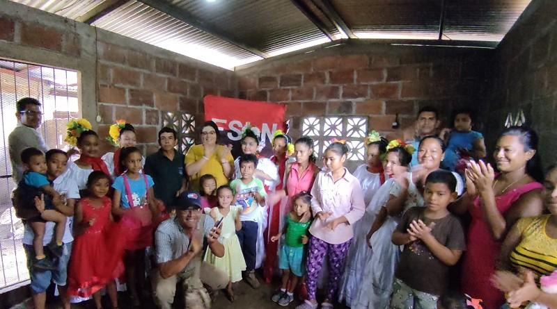 Electrificación rural de Nicaragua proyecto exitoso que se expande con obras concluidas en sectores del campo de León, El Viejo e inician en Somoto