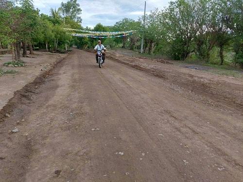En la comunidad Portobanco, Larreynaga, la alcaldía restauró cuatro kilómetros de camino.