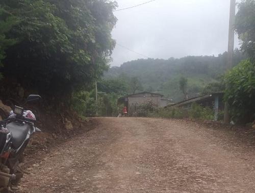 Siete kilómetros restauró la alcaldía de San Ramón en la comunidad Santa Marta.
