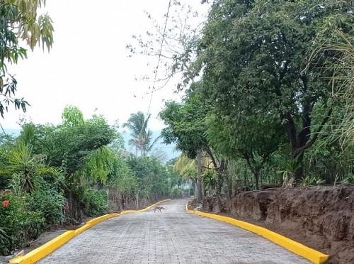 La alcaldía de Ticuantepe junto a los protagonistas de la comunidad Francia II inaugurarán una calle.