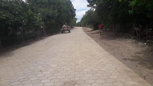 En Villanueva, el gobierno local inaugurará seis calles en la comunidad Cayanlipe.