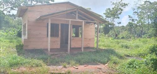 En el barrio Constantino, el gobierno local de Kukra Hillconstruyó una casa que inaugurará junto a la familia beneficiada.