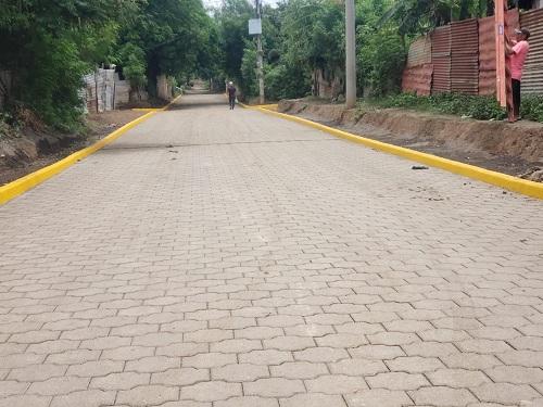 Mateare suma dos calles nuevas en el barrio El Porvenir.