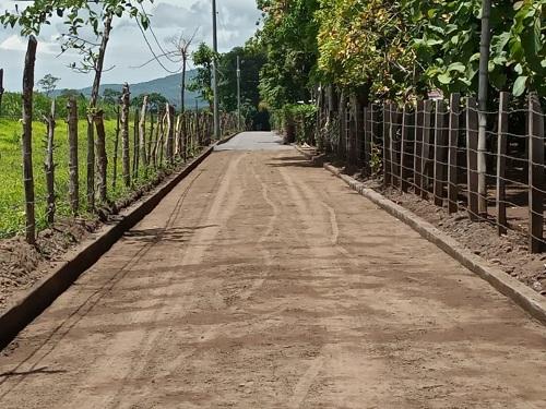 Santa Teresa: Construcción de cunetas