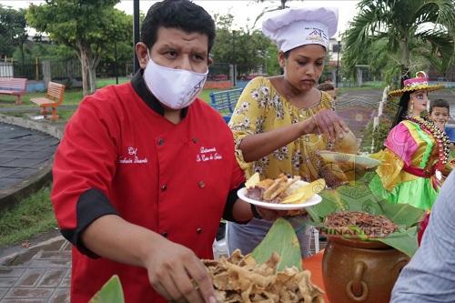 Festival gastronómico en Chinandega