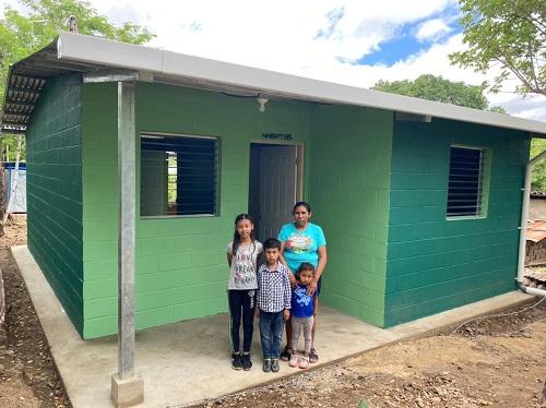 Cincocasas entregará la alcaldía de Somoto en el barrioJulio Ramón Miller, lotificación la Ceibita y en la comunidad Los Copales.
