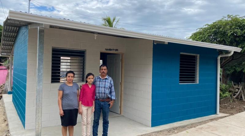 En el reparto Divino Niño, el gobierno local de Chinandega otorgará cuatro viviendas.