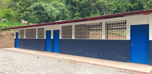 Waslala:Construcción de escuela en la  comunidad Los Angeles Kubali San Juan Bautista.