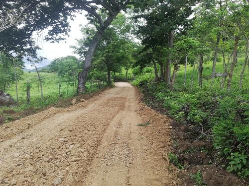 Camino productivo a la comunidad Cajunicuil, Juigalpa