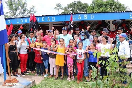 Mantenimiento al centro escolar 14 de Julio de la comunidad Caño Seco para mejorar las condiciones escolares a 137 protagonistas