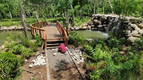 Parqyue natural de gran atractivo en San Rafael del Sur