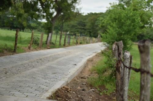 En Nagarote ya está finalizado el acceso principal hacia el Campo Santo dela comunidad Nahualapa.