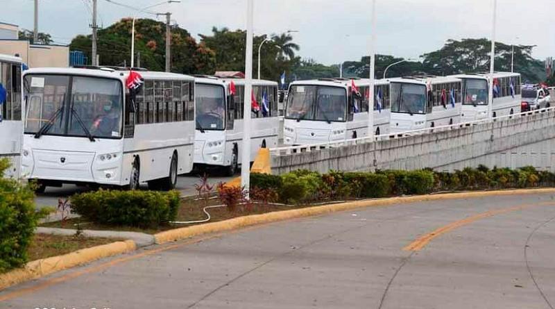 ¿Cómo ha mejorado el transporte público en Nicaragua con el Frente Sandinista?