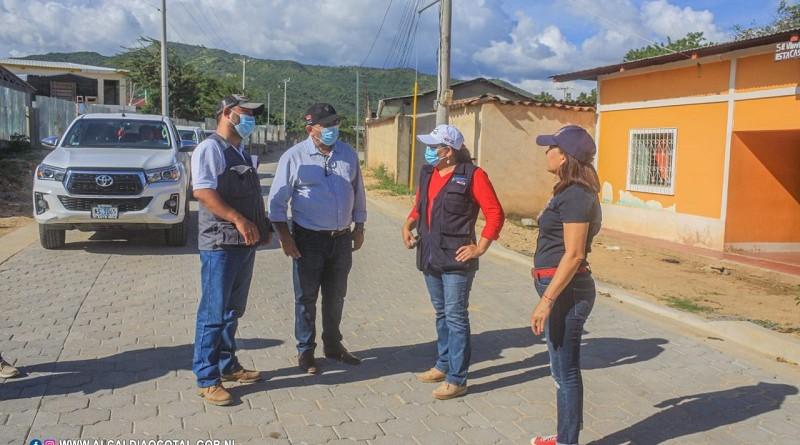 La presidenta del Inifom en la ciudad bicentenaria de Ocotal